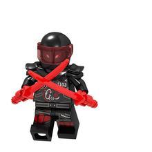 Legoing Ninjagoing Figuras Cole Jay Kai Zane Lloyd Garmadon Mestre Wu Nya Harumi Legoings Hutchins Building Blocks Brinquedos Para Crianças(China)