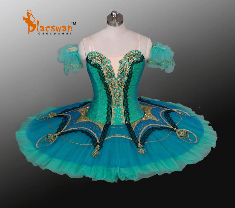 Le Corsaire Gulnara Professional Ballet Tutus BT804 Blue Classical Tutu Girls Esmeralda - Guangzhou Blacswan Dance & Activewear Co., Ltd. store