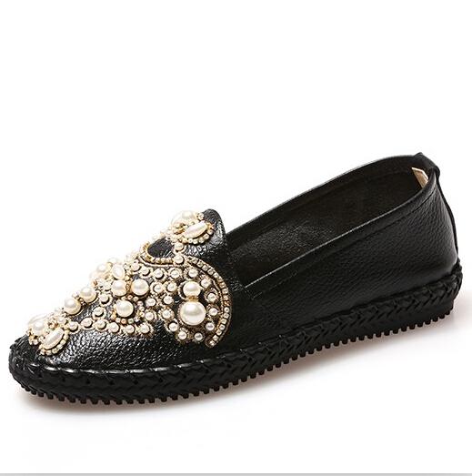 ENMAYER shoes Women Casual women Flats Fashion Platform Flats  Round toe Summer Shoes Ballet Stylish Flats<br><br>Aliexpress