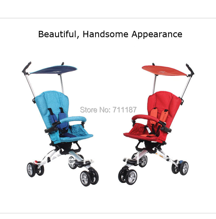 Comfortable Ride Travel Stroller Portable Easy To Fold Three Wheel Baby Stroller With Low Price Cheap Sale Free Shipping<br><br>Aliexpress