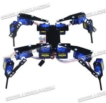 Four Feet Robot 4-Legged 12DOF Hexapod3 RC Mini Spider Robot Frame body Fun
