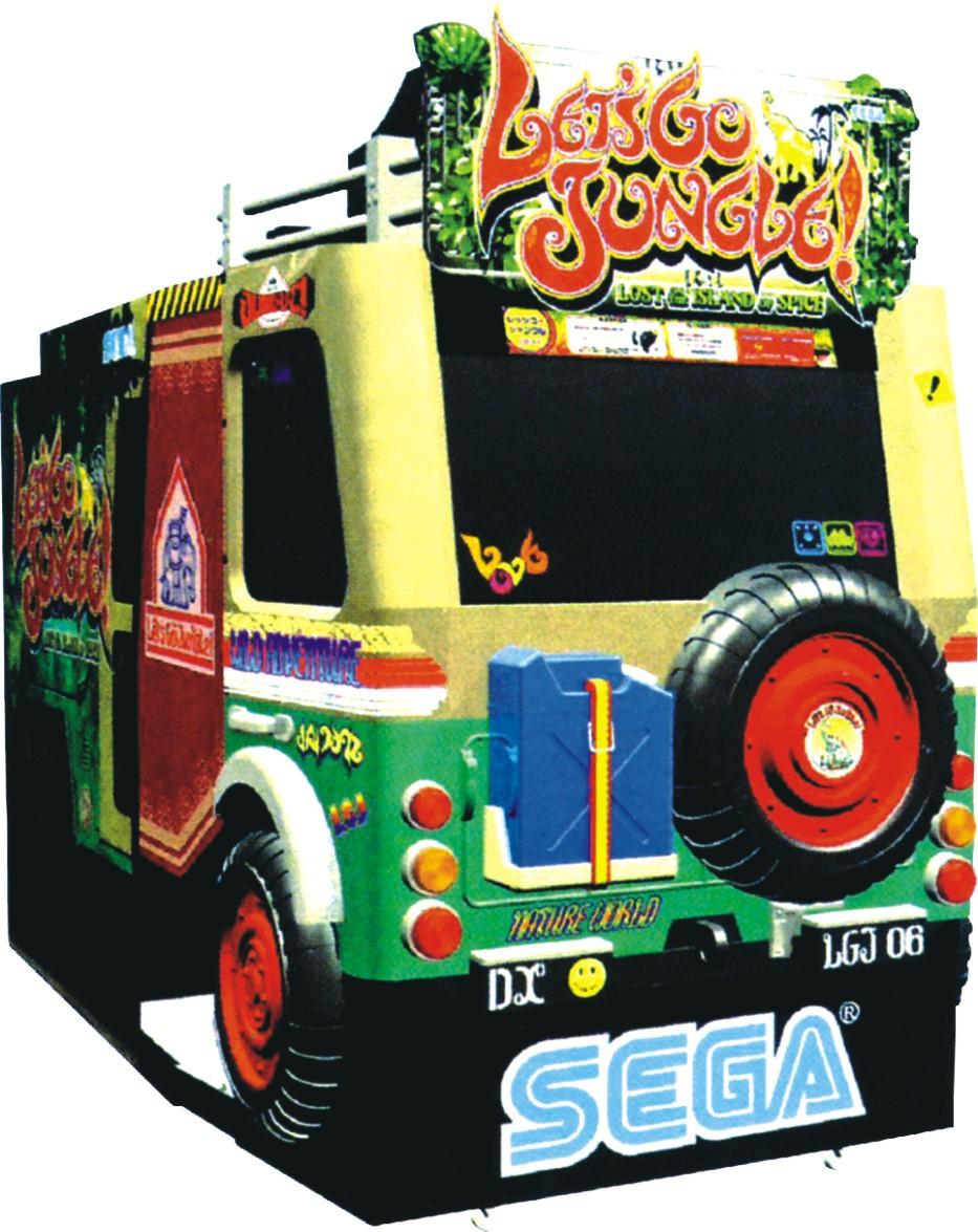 Let's Go Jungle arcade game Machine,Simulator Machine, Amusement Machine(China (Mainland))