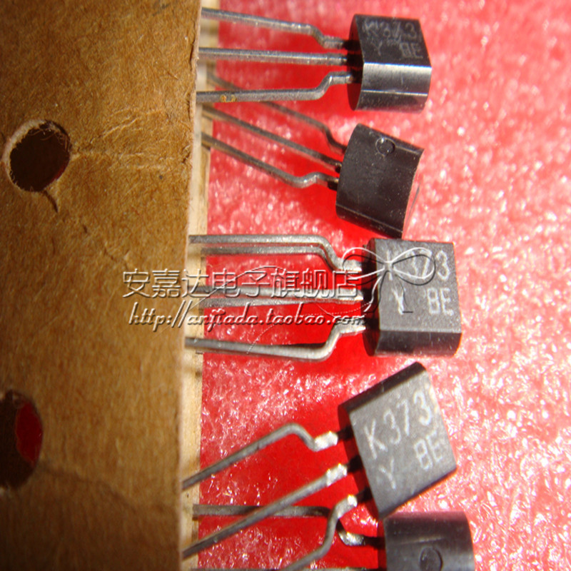 [N-JFET, for audio amplifica and high voltage current source] 2SK373-Y K373-Y TO-92(China (Mainland))