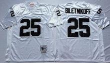 12 Ken Stabler 16 Jim Plunkett Throwback 32 Marcus Allen 34 Bo Retro Black White 25 Fred Biletnikoff(China (Mainland))