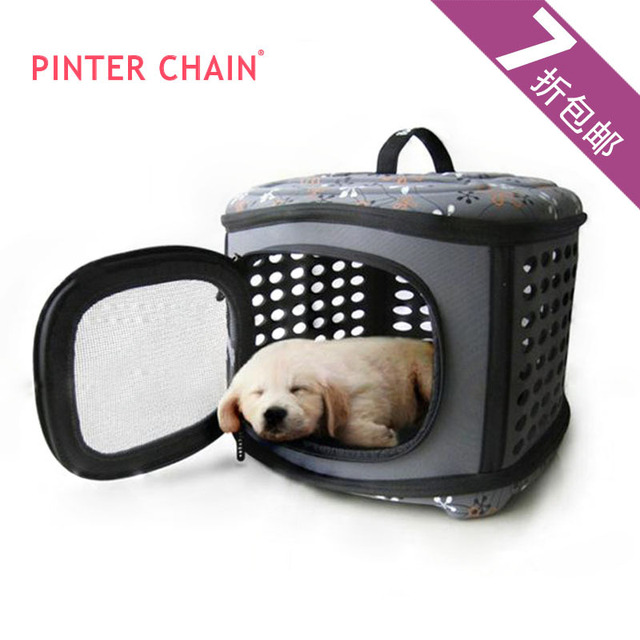 Free shipping~~portable folding dog carrier, pet/dog bag