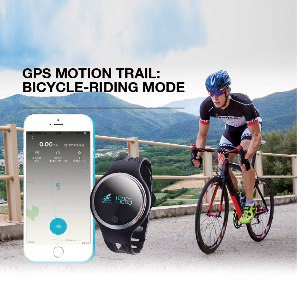 E07 Smart Watch for IOS 7.0 Android 4.3 Bluetooth 4.0 or Above Smartphone GPS Motion Trail Bicycle-riding Sport SmartWatch(China (Mainland))
