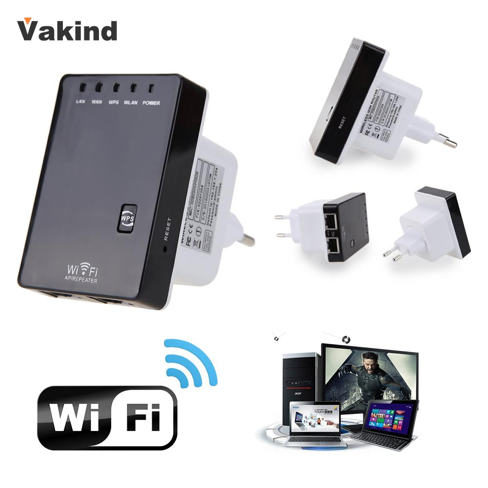300Mbps 2.4GHZ Wireless Wifi Router AP Repeater Extender Booster Network Cable US Plug/EU Plug Support AP Router Client Bridge(China (Mainland))