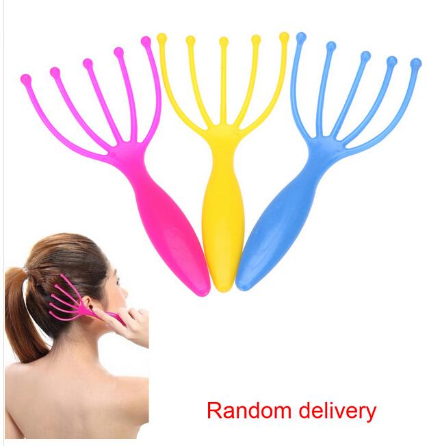 hotseller- Five Finger Massage Head Massager SPA Scalp Body care