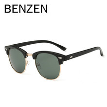 BENZEN Vintage Polarized Sunglasses Women Colorful Retro Men Sun Glasses Female Shades Lentes  Gafas De Sol Mujer With Box 6134