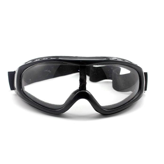 anng Anti Fog Motorcycle Biker Clear Glasses Windproof Flexible Band Eye Wear Goggles(China (Mainland))