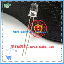 .F5 LED light-emitting diode 5MM transparent white hair yellow (orange) - Integrated circuit technology service center store