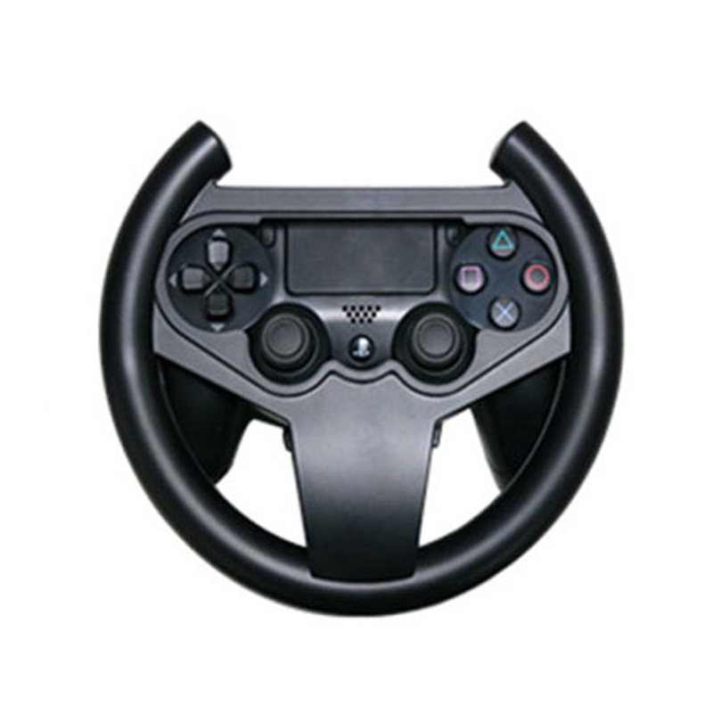 Hot Sale Black Steering Racing Wheel for PS4 Joypad Grip Controller Compact Durable