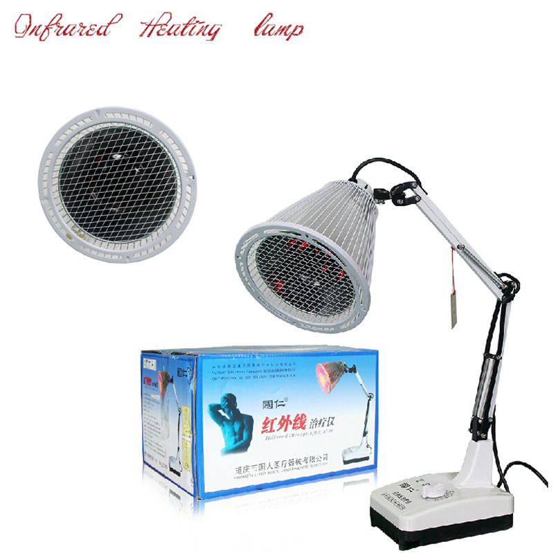 2015 free shipping therapy device health care electric Infrared light massage Infrared heating lamp physiotherapy household(China (Mainland))