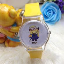 1 unids dulce verano transparente de goma correa de reloj de cuarzo de silicona Unisex mujeres hombres reloj de pulsera reloj reloj de pulsera 198