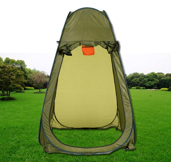 Outdoor Portable Pop Up Tent Hiking Changing Room Toilet Shower Beach Camping Tent Cam For 1 Person(China (Mainland))