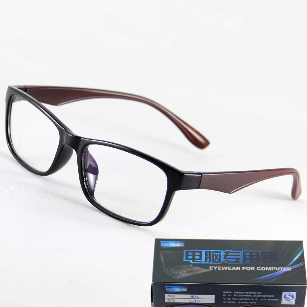 2 color Unisex Eyeglasses Frame TV Computer Glasses UV400 Clear Lens Leisure Fashion Goggles Brand Plano Reading Spectacle Frame(China (Mainland))