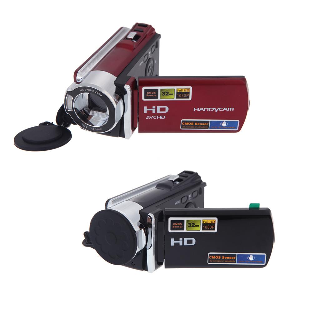 HDV-614A 1080P Digital Video Camera Mini Camcorder Full HD 16MP 16x Digital Zoom DV MIni Camera(China (Mainland))