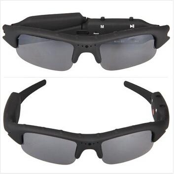 Fast shipping 2015 new mini DV DVR Portable Sunglasses Camera Recorder creative camcorder HD High quality(China (Mainland))