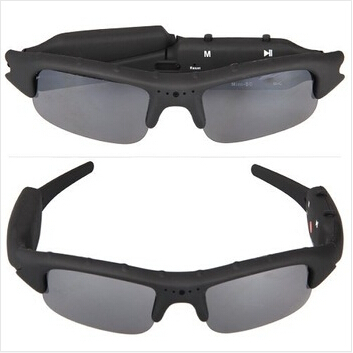 Fast shipping 2015 new mini DV DVR Portable Sunglasses Camera Recorder creative camcorder HD High quality(China (Mainland))