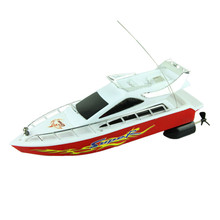 Modern Powerful Plastic Remote Control Boats Speed Electric Toys Model Ship Sailing Children Game Kids Ship Free Shipping Mar30(China (Mainland))