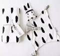 Soft Newborn Baby set Rabbit Cat Sleeping Dolls Bunny giraffe Play Mat Security Kids Carriage Toy
