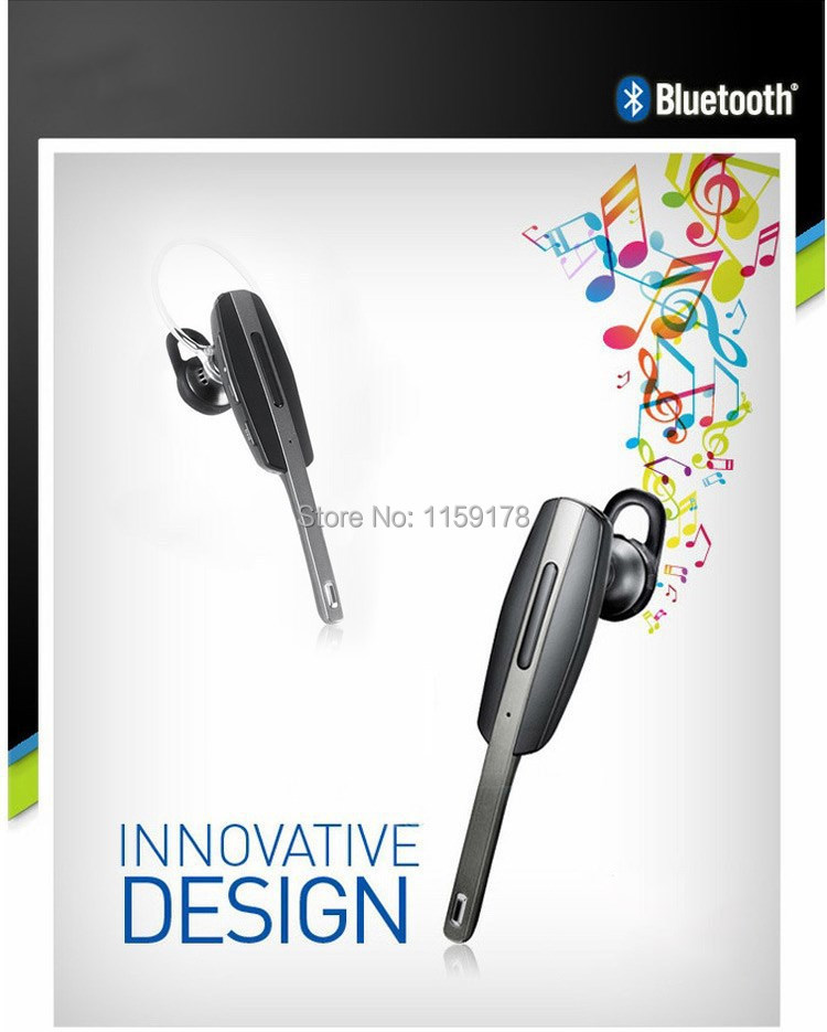 Classic Universal Noise Canceling Stereo Bluetooth Headphone Headset With Mic For Cell Phone, Tablet, Receive Call Listen Music(China (Mainland))