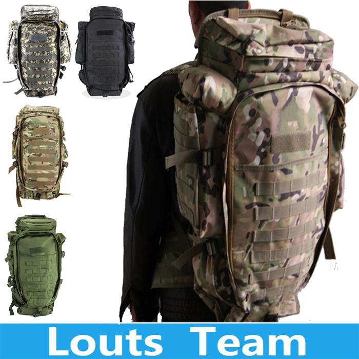 USMC Army Men Women Outdoor Military Tactical Backpack Camping Hiking Rifle Bag Trekking Sport Travel Rucksacks Climbing Bags(China (Mainland))