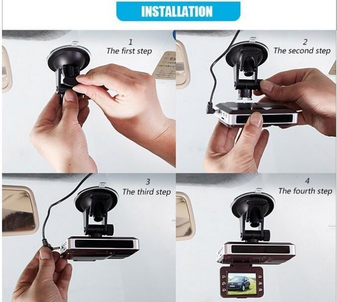 2015 New Car recorder car camera car DVR video recorder STR8500 3in1 Radar Laser speed Detector/GPS drivecircuit Record Detector