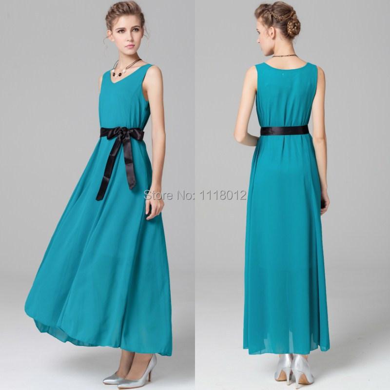 Simple Eight Sixty Palm Maxi Dress In BlueGreen For Women  Dawoob Women