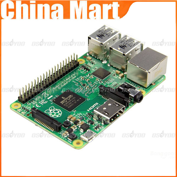 Best Quality Model B B+ 1GB RAM Latest Version 2015 6x Faster Quad Core CPU for Raspberry Pi 2 , free shipping & drop shipping(China (Mainland))