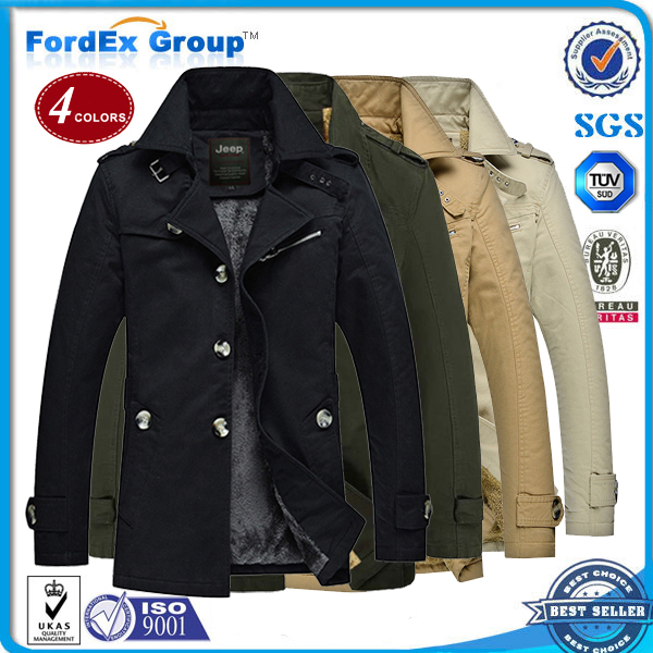 2015 Long section 5XL Brand men's winter jacket men hoodies coats outdoor Thicken Plush warmth Cotton-padded - Fordex Industrial Group Limited store