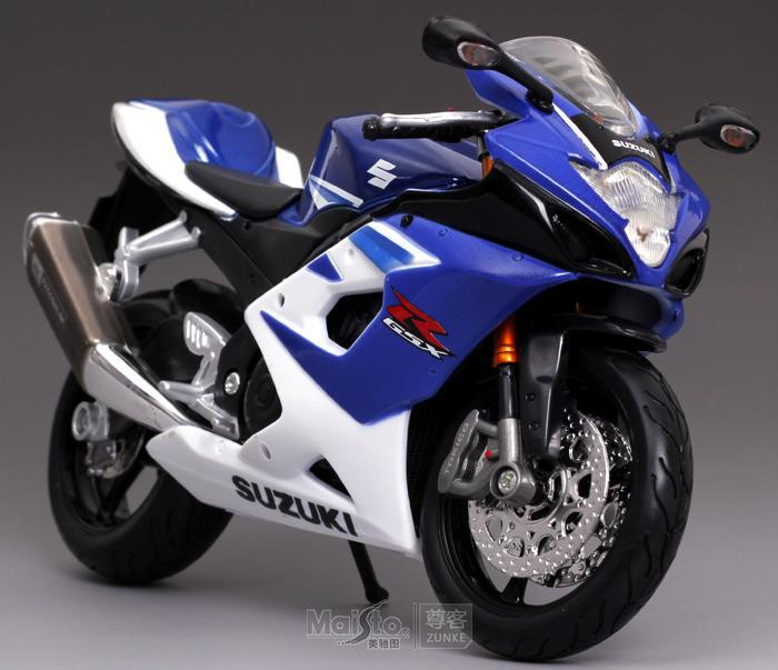 SUZUKI suzuki gsx-r 1000 blue alloy motorcycle model(China (Mainland))