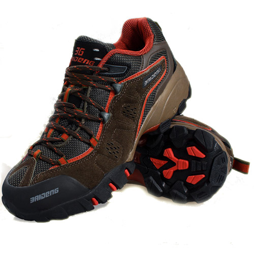 outdoor fun & sports mountain trekking shoes hunting boots outdoors sport hiking shoes men boot new fashion style(China (Mainland))