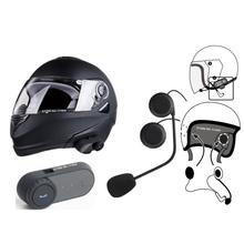 FDC T-COMVB Telephone Headsets Updated Version 2016 Original BT Bluetooth Motorcycle Helmet Intercom Interphone  with FM Radio
