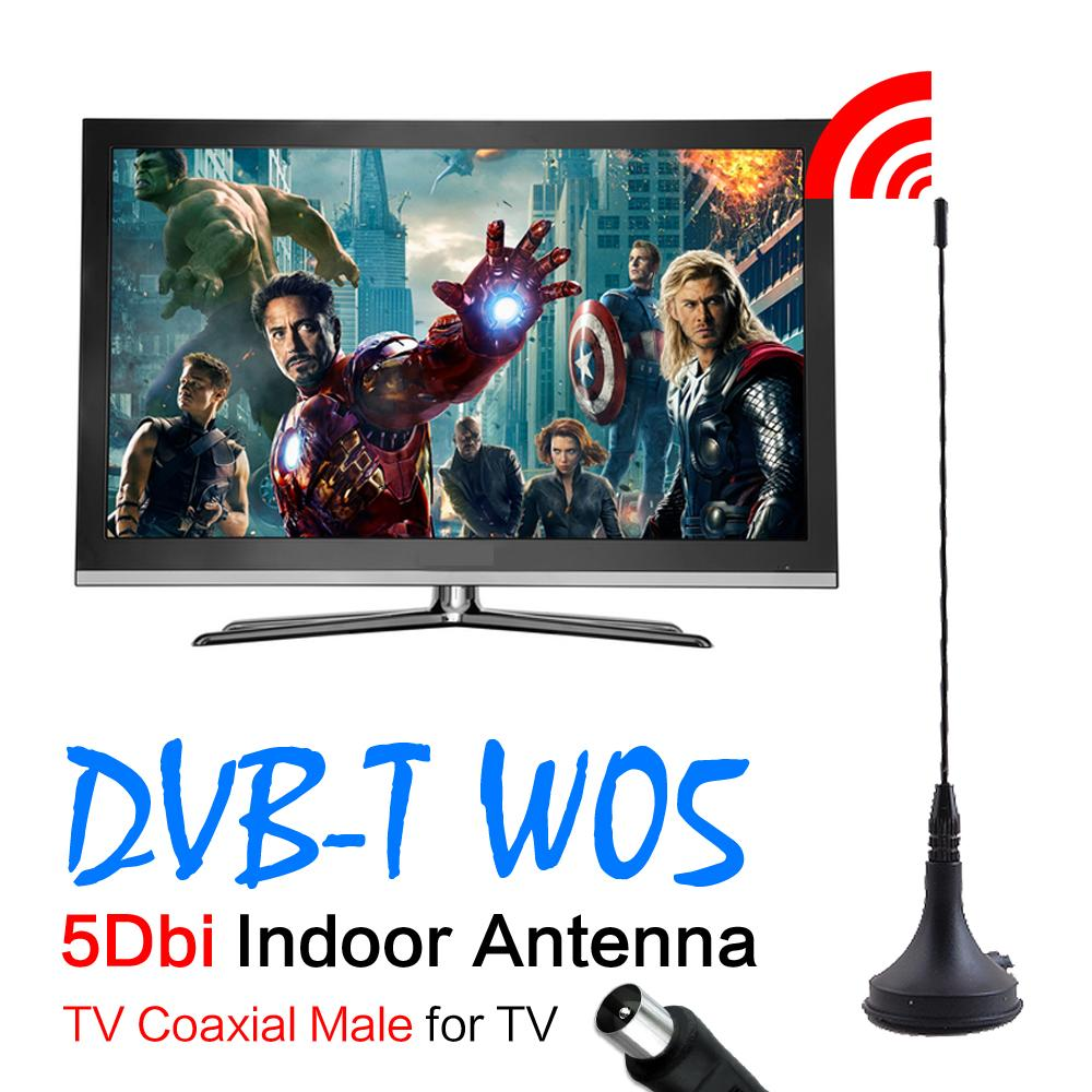 59%off 2016 New 5dBi Digital DVB-T TV Antenna Freeview HDTV Antenna Aerial Booster For DVB-T TV HDTV(China (Mainland))