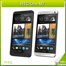Original HTC One M7 32GB ROM 2GB RAM Cell Phone APQ8064T Snapdragon 600 Quad core 1.7GHz 4.7″ 1920*1080 4G FDD-LTE WCDMA GSM