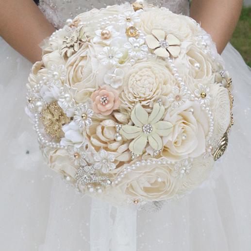 achetez en gros fleurs s ch es bouquet de mariage en ligne. Black Bedroom Furniture Sets. Home Design Ideas