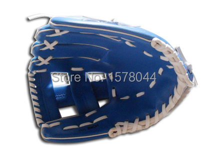 Hot 1/piece PVC baseball gloves for kids, children's baseball glove blue contest dedicated(China (Mainland))