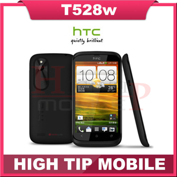 T528w Original HTC Desire C Android GPS WIFI 3.5'' 5MP camera TouchScreen Unlocked Cell Phone Fress Shipping Refurbished(China (Mainland))