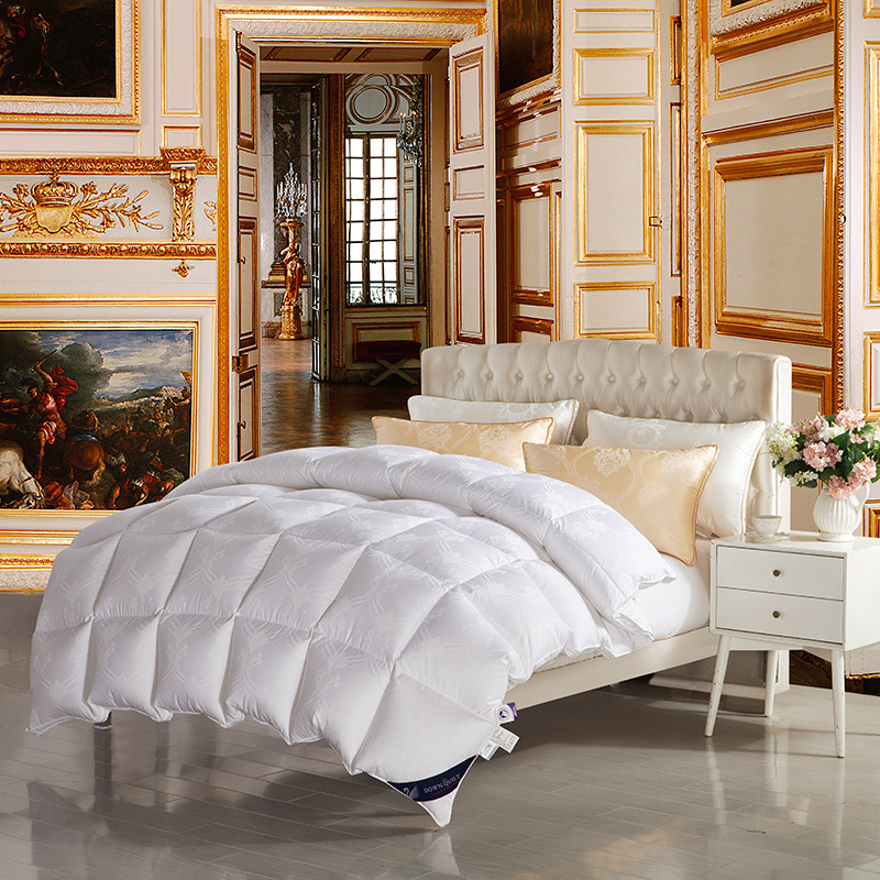 goose down comforter winter warmth quit fabric cotton quilted stitching size 200*230cm 220*240cm(China (Mainland))