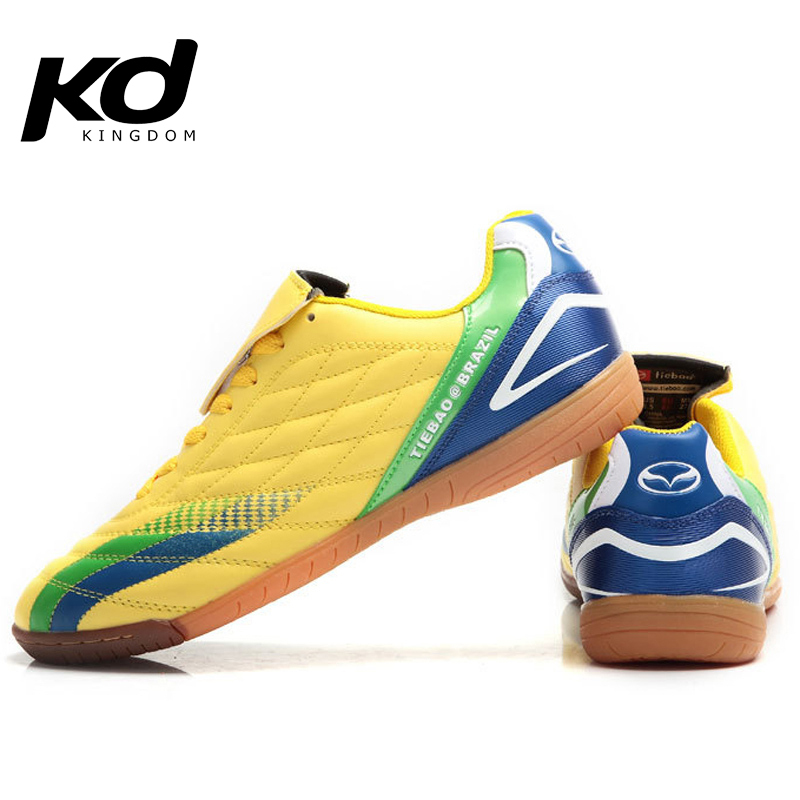 Indoor TF Football Boots Brand Soccer Shoes Men yellow black cr7 botas de futbol soccer cleats scarpini calcio magista f50 botas(China (Mainland))
