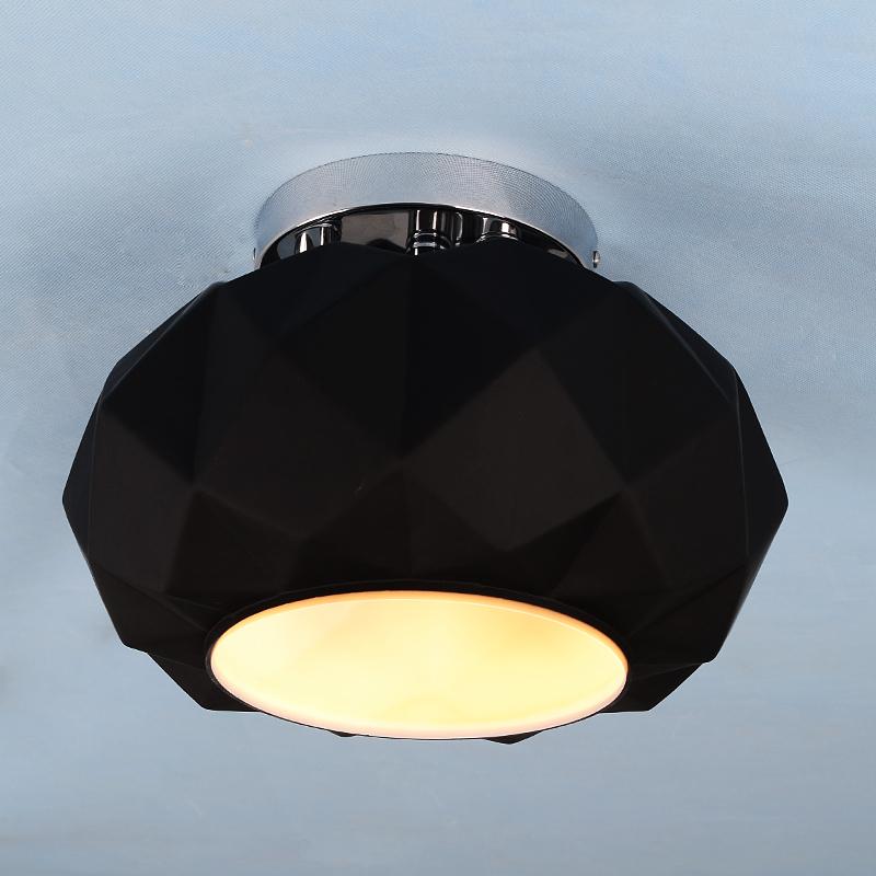 Pitt Anderson creative design study of European modern minimalist bedroom ceiling lamp black diamond restaurant in glass(China (Mainland))