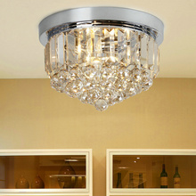New Modern Crystal Ceiling Lights of Corridor / Balcony / Porch Simple Bedroom Crystal Lamps Bar / Restaurant  Home Lighting(China (Mainland))