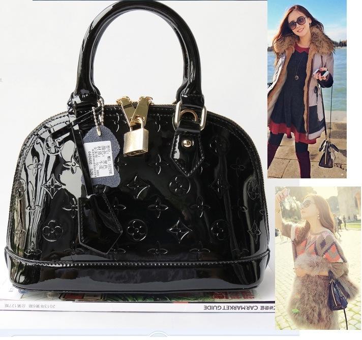 2015 Brand Designer Mini And Small Embossed Genuine Leather Shell Handbags Hit Color Star Dinner Tote Tassels Messenger Handbags(China (Mainland))