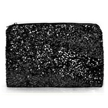 2015 New Dazzling Glitter Sparkling Bling Sequins Evening Party Purse Bag Handbag Women Clutch Wallet FCI#