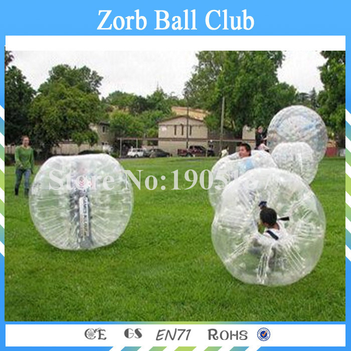 Free Shipping 1.2m TPU Bubble Soccer For Kid ,Bubble Football ,Zorb Ball For Sale, Bubble Ball Suit For Colombia(China (Mainland))