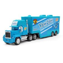 A01-0341 Funny Pixar Cars diecast figure toy Alloy Car Model for kids children Toy- blue color Container truck NO.39 1pcs