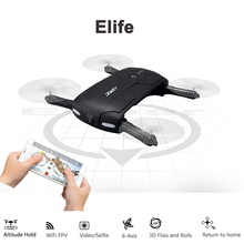 JJRC H37 elfie foldable mini RC selfie drone with HD Camera Altitude Hold FPV Transmission Quadcopter Drone WiFi Phone Control(China (Mainland))
