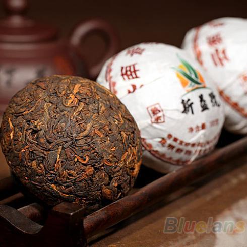 Xin Yi Hao Menghai Tuo Cha Puer Tea 100g Ripe 028A 3P6E