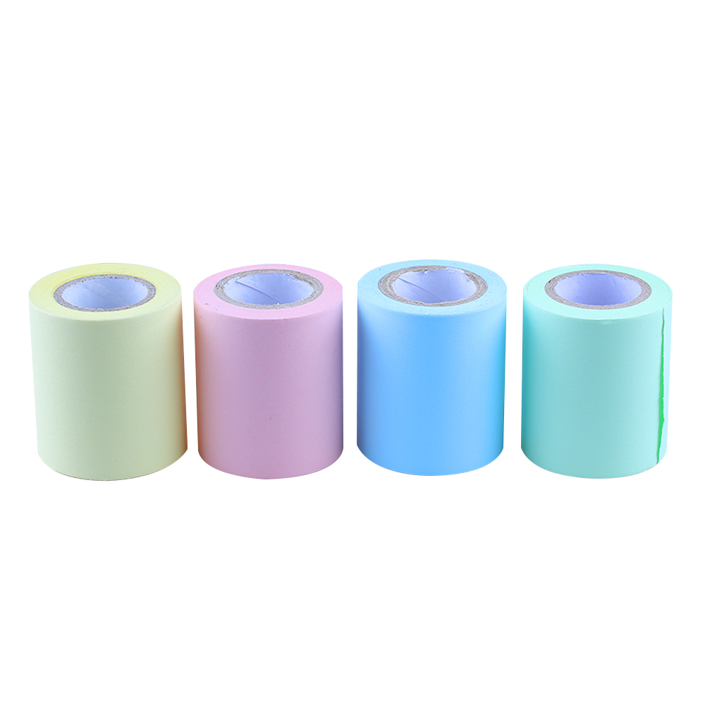 1PC New Hot Sale Fashion Creative Self Adhesive Tape Dispenser Sticker Memo Pad Replacement School Stationery Office Supplies(China (Mainland))